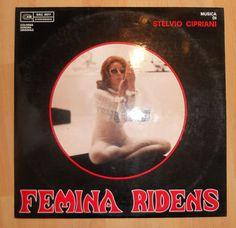 FEMINA RIDENS Music by STELVIO CIPRIANI - OG LP 1969 CAM