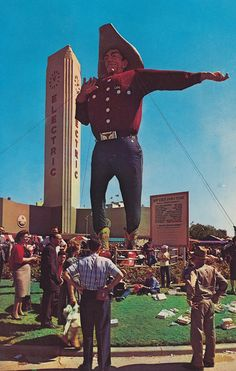 """Big Tex"" at the Texas State Fair - Dallas, Texas"
