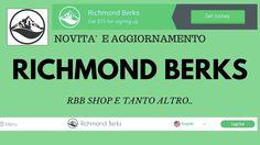 Aggiornamento e nuove funzioni del sito Richmond Berks! (23/02)