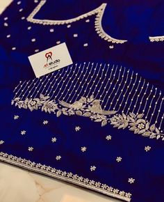 Cutwork Blouse Designs, Wedding Saree Blouse Designs, Simple Blouse Designs, Stylish Blouse Design, Hand Embroidery Designs, Hand Work Design, Hand Work Blouse Design, Maggam Work Designs, Girls Frock Design