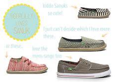Sanuk - Ethical foot wear vegan shoes...I love sanuks!