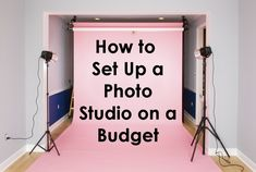 How to Set Up a Photo Studio on a Budget   Backdrop Express Photography Team blog photography, photography tips, blog tips,   #blogphotography #blogtips #photographytips