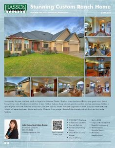 Real Estate for Sale at $499,000! Four Bedroom, two and a half Bath, 3140 square foot stunning custom one level Lakeview Estates home on .24 acre lot located at 8306 NW 16th Avenue, Vancouver, Washington 98665 in Clark County area 41 which is the North Hazel Dell or Felida area in Vancouver. The RMLS number is 15093971. It has one gas burning fireplace and is not considered to be a view home. It was built in 2002 and the local high school is Columbia River High. The annual taxes due are ...