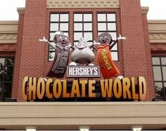 Hershey Park: The Amazing Chocolate Theme Park... What an awesome field trip this would be if we only lived closer!