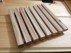 Cedar Wood Trivet | $10