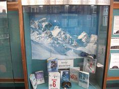 Winter Wonderland display at Jesmond Library