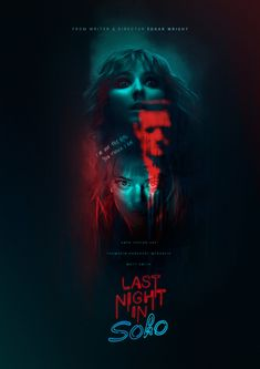 Last Night In Soho by Edgar Wright starring Anya Taylor-Joy, Thomasin McKenzie and Matt Smith looks really incredible, can't wait! Anya Taylor Joy, Matt Smith, Last Night, Soho, The Incredibles, Movie, Poster, Film, Small Home Offices