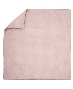 Pink Star Cotbed Quilt