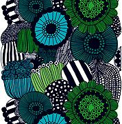 Marimekko fabric. Some of the designs are so whimsical. I can't pick one fab, but I love the bold outlines and black patterns here.