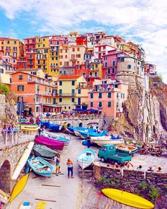 Manarola en Ligurie Plus