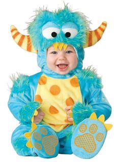 Kostuum monster voor baby's