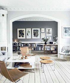 Galet snyggt Gillar golvet och valvet med unik form @interiordesignmilk