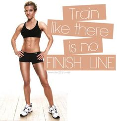 Train like there is no finish line. #fitness #workout #exercise #training