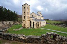 Manastir Sopoćani / The monastery of Sopocani Location: Novi Pazar, Serbia