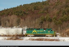 RailPictures.Net Photo: GMRC 302 Green Mountain Railroad EMD GP40-2 at Chester, Vermont by Tim Stevens