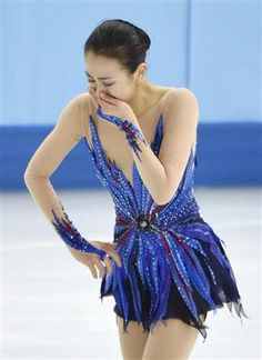 "Mao Asada~Johnny Weir put it best: ""This is why we love watching figure skating."""
