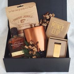 Groomsman Gift. Groomsman Gift Box. Gifts for Guys. Curated Gift Box ...
