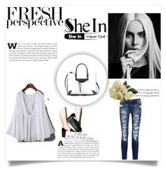 """""""Fresh perspective"""" by chicago-bulls ❤ liked on Polyvore featuring Current/Elliott, Qupid and Balenciaga"""