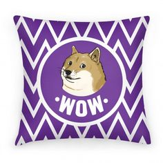 Doge Pillow! Wow!