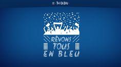 TOUS EN BLEU!! Allez les bleus!!