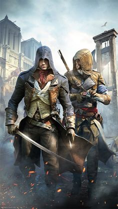 iPhone wallpaper Assassin's Creed Hd, All Assassin's Creed, Assassins Creed Quotes, Assassins Creed Odyssey, Arno Victor Dorian, Assassin's Creed Wallpaper, Rogue Assassin, Graphic Novel, Marvel Vs