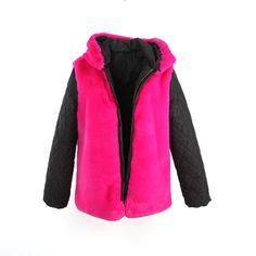 JAZZEVAR new fashion women's outer hooded faux fur liner good quality