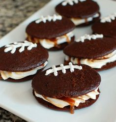 game day whoopie pies