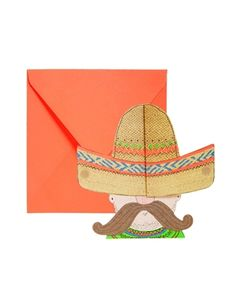 Paperchase+Sombrero+Pop+Up+Card