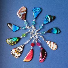 Náušnice motýl - mot42