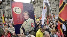 """Pour Arnold Karskens, un célèbre journaliste de guerre néerlandais, un Printemps Européen n'est pas à exclure dans les prochains mois à venir. """"Tous les éléments sont présents pour un soulèvement de foule"""", avertit-il dans NRC . © epa. © ap. © epa. Pour..."""