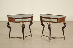 Comodini anni 50 #anticonline #antiquariato #modernariato #antique #midcentury #arredamento #madeinitaly #italiandesign #italianfurniture #furniture #design