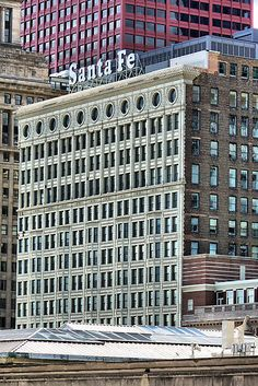'Santa Fe Building, Chicago, Daniel Burnham' by Crystal Clyburn Daniel Burnham, Rolling Meadows, Chicago Photography, White City, World's Fair, Santa Fe, Finals, Devil, Architects