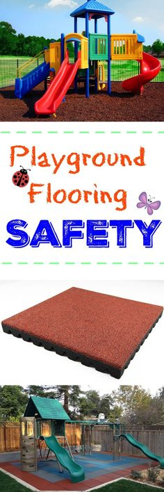 Playground Flooring Safety: Make sure your playground is safe and fall height safety rated with this all inclusive guide to playground flooring safety. Learn the surfaces to avoid and the appropriate tiiles, mats and mulch that will keep your kids safe and your mind at ease.