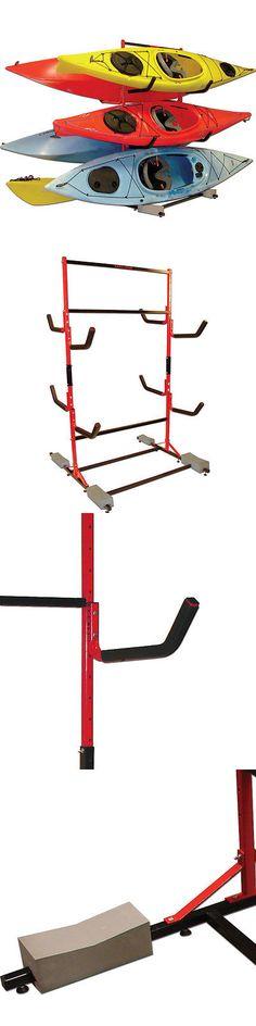 Accessories 87089: Malone 6-Kayak Free Standing Kayak Storage Rack - Mpg331 -> BUY IT NOW ONLY: $292.46 on eBay!