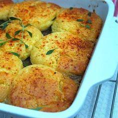 Easy beef pie with potato scones