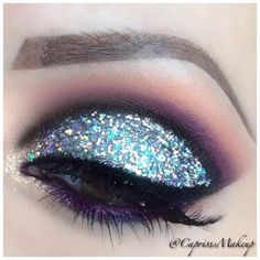 Glitter Cut Crease is an amazing look but don't think I'll try that