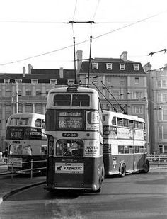 Torlleybuses in Brighton UK Brighton Sussex, Brighton And Hove, Buses And Trains, Double Decker Bus, Bus Coach, Sports Day, London Transport, Busses, Commercial Vehicle