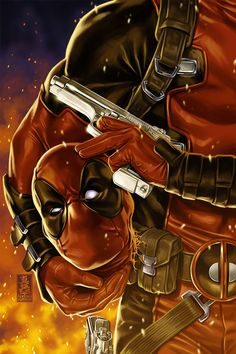 Deadpool Marvel Modern Age Comics Not Signed Marvel Dc Comics, Marvel Heroes, Cosmic Comics, Comic Book Artists, Comic Books Art, Comic Art, Deadpool Wallpaper, Hulk, Thor