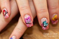 nail-art-butterfly-one-stroke