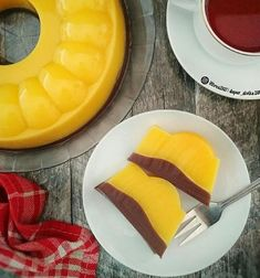 resep labu kuning istimewa Cake Recipes, Dessert Recipes, Desserts, Resep Cake, Indonesian Food, Agar, Cake Cookies, Mango, Food And Drink