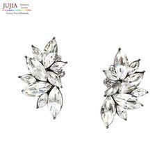 2016 nuovo commercio all'ingrosso dell'annata di disegno di cristallo dell'orecchino di modo delle donne dichiarazione orecchini per le donne orecchino di modo