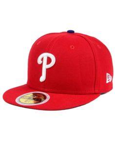 c3713764780 New Era Kids  Philadelphia Phillies Authentic Collection 59FIFTY Cap - Red 6  1 2