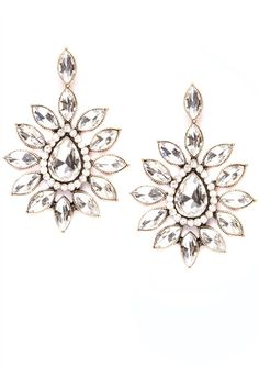 Radiant Light Statement Earrings #fashion #style #clear #statementearrings - 16,90 € @happinessboutique.com