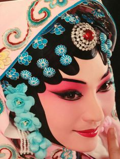 Delicate make-up of Beijing opera