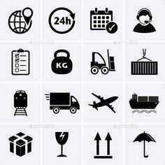 Logistics and Shipping Icon | Buy and Download: http://graphicriver.net/item/logistics-and-shipping-icon/8885444?WT.ac=category_thumb&WT.z_author=ankudi&ref=ksioks
