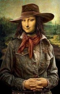 Lisa Gherardini, Mona Friends, Arte Alien, La Madone, Mona Lisa Parody, Mona Lisa Smile, Calamity Jane, Johannes Vermeer, Famous Artwork