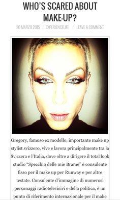 Con oggi s'inaugura la nuova pagina dedicata al Make-up con una sensazionale intervista ad un famosissimo Make up stylist @thedukeofmakeup svolta da @darchangelgabriel