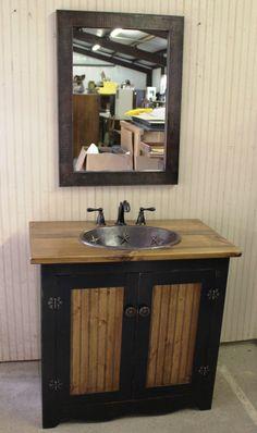 Image On Unfinished Bathroom Vanities Wood Vanity Open Shelves White Marble Hardwood Floors Pine Marbles Cabin