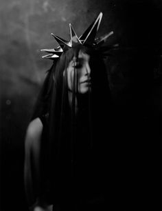 Fairytale fashion fantasy / karen cox.  ♔ Star veil