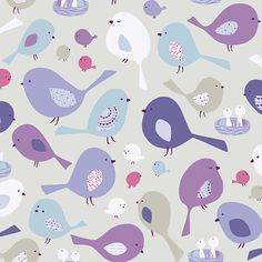 Tweet Together Birds of a Feather Studio E by spiceberrycottage, $8.95 #sewing #fabric #quilting